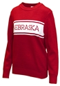 Nebraska Womens Varsity Stripe Sweater Nebraska Cornhuskers, Nebraska  Ladies Tops, Huskers  Ladies Tops, Nebraska Nebraska Womens Varsity Stripe Sweater, Huskers Nebraska Womens Varsity Stripe Sweater
