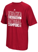 Official Adidas 2017 Husker Volleyball National Champs Tee Nebraska Cornhuskers, Nebraska Volleyball, Huskers Volleyball, Nebraska  Ladies T-Shirts, Huskers  Ladies T-Shirts, Nebraska  Short Sleeve, Huskers  Short Sleeve, Nebraska  Mens, Huskers  Mens, Nebraska  Ladies, Huskers  Ladies, Nebraska  Mens T-Shirts, Huskers  Mens T-Shirts, Nebraska Official 2015 Husker Volleyball National Champs Tee, Huskers Official 2015 Husker Volleyball National Champs Tee