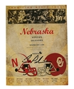 Pelini Signed 2009 OU Game Program Nebraska Cornhuskers, husker football, nebraska cornhuskers merchandise, husker merchandise, nebraska merchandise, husker memorabilia, husker autographed, nebraska cornhuskers autographed, nebraska cornhuskers memorabilia, nebraska cornhuskers collectible, Joe Ganz Signed 2008 K. State Program