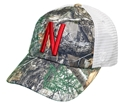 Real Tree Husker Trucker Nebraska Cornhuskers, Nebraska  Mens Hats, Huskers  Mens Hats, Nebraska  Mens Hats, Huskers  Mens Hats, Nebraska Real Tree Husker Trucker, Huskers Real Tree Husker Trucker