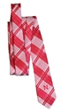 Red N Logo Skinny Plaid Tie Nebraska Cornhuskers, Nebraska  Mens, Huskers  Mens, Nebraska  Ties & Pins, Huskers  Ties & Pins, Nebraska  Mens Accessories, Huskers  Mens Accessories, Nebraska Red N Logo Skinny Plaid Tie Eagles Wings, Huskers Red N Logo Skinny Plaid Tie Eagles Wings