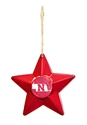 Red Star Nebraska Ornament Nebraska Cornhuskers, Nebraska  Holiday Items, Huskers  Holiday Items, Nebraska Red Star Nebraska Ornament, Huskers Red Star Nebraska Ornament
