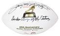 Rodgers Autographed Anniversary Heisman Football Nebraska Cornhuskers, Nebraska, Huskers, Nebraska Rodgers Autographed Anniversary Heisman Football, Huskers Rodgers Autographed Anniversary Heisman Football