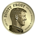 Scott Frost Head Coach Commemorative Coin Nebraska Cornhuskers, Nebraska Collectibles, Huskers Collectibles, Nebraska Scott Frost Head Coach Commemorative Coin, Huskers Scott Frost Head Coach Commemorative Coin