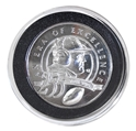 Tom Osborne 255 Career Wins Silver Plated Career Coin Nebraska Cornhuskers, Original Tom Osborne 255 Career Wins Silver Plated Career Coin