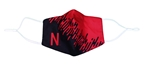 Two Tone N Mask Nebraska Cornhuskers, Nebraska  Ladies, Huskers  Ladies, Nebraska  Mens, Huskers  Mens, Nebraska  Mens Accessories, Huskers  Mens Accessories, Nebraska  Ladies Accessories, Huskers  Ladies Accessories, Nebraska Mask, Huskers Mask