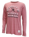 University Of Nebraska LS Retro Tee Nebraska Cornhuskers, Nebraska  Mens T-Shirts, Huskers  Mens T-Shirts, Nebraska  Long Sleeve, Huskers  Long Sleeve, Nebraska  Mens, Huskers  Mens, Nebraska University Of Nebraska LS Retro Tee, Huskers University Of Nebraska LS Retro Tee