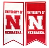 University of Nebraska Banner Flag - FW-D4002