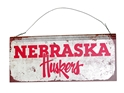 Vintage Huskers Rectangular Tin Sign Nebraska Cornhuskers, Nebraska  Framed Pieces, Huskers  Framed Pieces, Nebraska  Game Room & Big Red Room , Huskers  Game Room & Big Red Room , Nebraska Vintage Huskers Rectangular Tin Sign, Huskers Vintage Huskers Rectangular Tin Sign