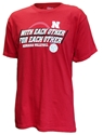 With Each Other Huskers Volleyball Tee Nebraska Cornhuskers, Nebraska  Short Sleeve, Huskers  Short Sleeve, Nebraska Volleyball, Huskers Volleyball, Nebraska  Mens T-Shirts, Huskers  Mens T-Shirts, Nebraska  Ladies, Huskers  Ladies, Nebraska  Ladies T-Shirts, Huskers  Ladies T-Shirts, Nebraska With Each Other Huskers Volleyball Tee, Huskers With Each Other Huskers Volleyball Tee