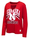 Womens LS Cutout Nebraska Scout Top Nebraska Cornhuskers, Nebraska  Ladies Tops, Huskers  Ladies Tops, Nebraska  Ladies, Huskers  Ladies, Nebraska  Long Sleeve, Huskers  Long Sleeve, Nebraska Womens LS Cutout Nebraska Scout Top, Huskers Womens LS Cutout Nebraska Scout Top
