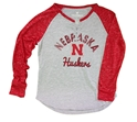 Youth Nebraska Huskers Lace Up Raglan Nebraska Cornhuskers, Nebraska  Kids, Huskers  Kids, Nebraska  Youth, Huskers  Youth, Nebraska Youth Nebraska Huskers Lace Up Raglan, Huskers Youth Nebraska Huskers Lace Up Raglan