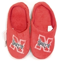 Youth Slide Huskers Slipper Nebraska Cornhuskers, Nebraska  Footwear, Huskers  Footwear, Nebraska Youth Slide Huskers Slipper, Huskers Youth Slide Huskers Slipper
