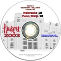 2003 Dvd Penn St Husker football, Nebraska cornhuskers merchandise, husker merchandise, nebraska merchandise, nebraska cornhuskers dvd, husker dvd, nebraska football dvd, nebraska cornhuskers videos, husker videos, nebraska football videos, husker game dvd, husker bowl game dvd, husker dvd subscription, nebraska cornhusker dvd subscription, husker football season on dvd, nebraska cornhuskers dvd box sets, husker dvd box sets, Nebraska Cornhuskers, 2003 Penn State