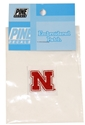 1 Inch Iron N Patch Nebraska Cornhuskers, Red N Patch, 1 inch