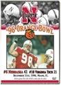 1996 Orange Bowl vs Virginia Tech Hokies Husker football, Nebraska cornhuskers merchandise, husker merchandise, nebraska merchandise, nebraska cornhuskers dvd, husker dvd, nebraska football dvd, nebraska cornhuskers videos, husker videos, nebraska football videos, husker game dvd, husker bowl game dvd, husker dvd subscription, nebraska cornhusker dvd subscription, husker football season on dvd, nebraska cornhuskers dvd box sets, husker dvd box sets, Nebraska Cornhuskers, 1996 Orange Bowl vs. Virginia Tech